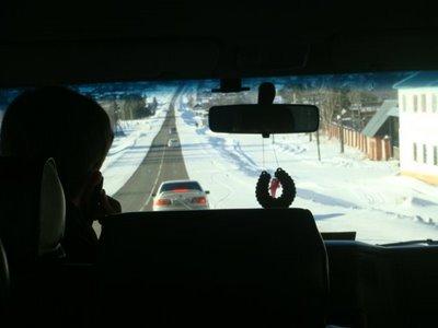 Marschrutka Listvjanka - Irkutsk - Russland