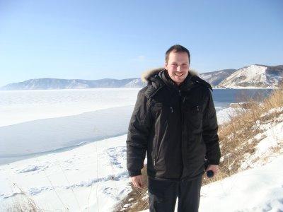 Listvjanka am Baikalsee im Winter - Russland