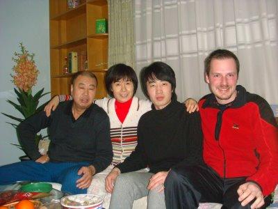 Gastfamilie in Beijing