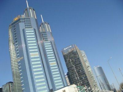 Hochhäuser - Peking