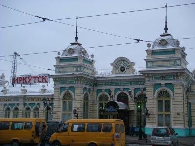 Bahnhof Irkutsk - Sibirien - Russland