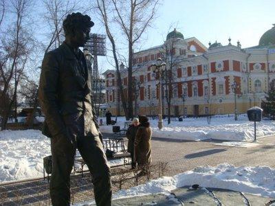 Dramentheater in Irkutsk - Sibirien - Russland
