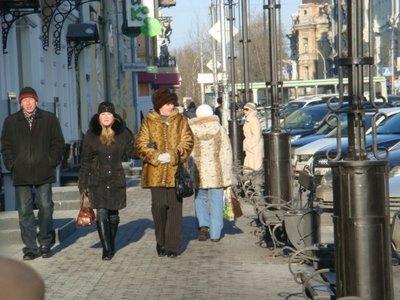 Karl-Marx-Straße in Irkutsk - Sibirien - Russland