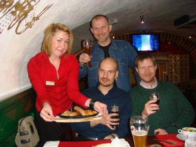 Im British Club in Irkutsk - Sibirien - Russland