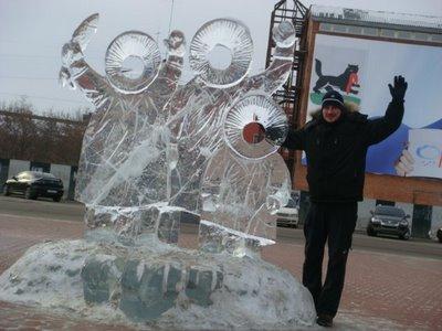 Eisschnitzereien - Irkutsk - Sibirien - Russland