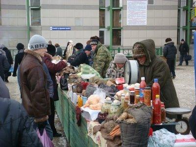 Zentralmarkt - Irkutsk - Sibirien - Russland