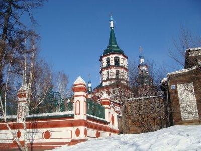 Kirche der Kreuzerhöhung in Irkutsk - Sibirien - Russland