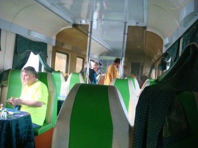 Moskau-Peking-Express - Speisewagen