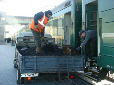 Moskau-Peking-Express Kohlelieferung Ulan-Ude