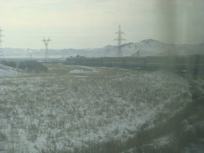 Moskau-Peking-Express - Transmongolische Eisenbahn