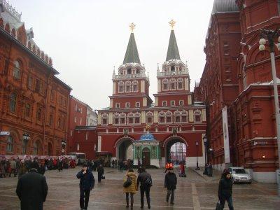 Auferstehungstor - Iberische Pforte in Moskau - Russland