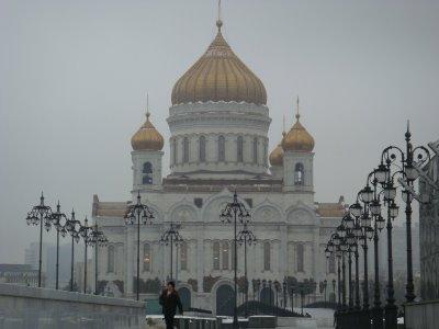 Christ-Erlöser-Kirche in Moskau - Russland