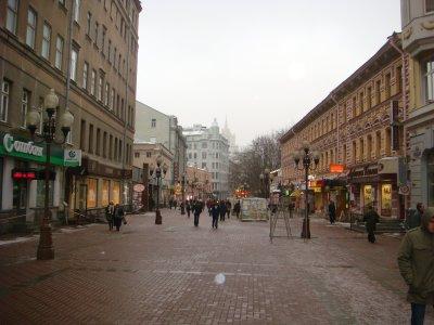 Alter Arbat in Moskau - Russland