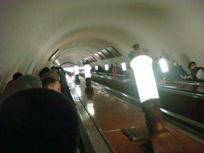 Metro - Moskau - Russland