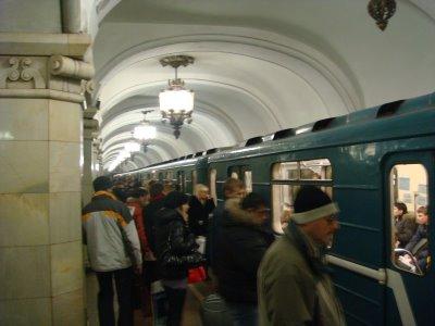 Metro Station - Moskau - Russland