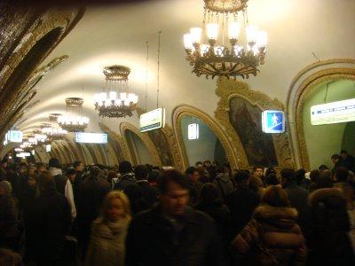 Metrostation - Moskau - Russland