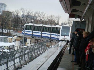 Monorail in Moskau - Russland