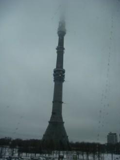 Ostankino-Turm in Moskau - Russland
