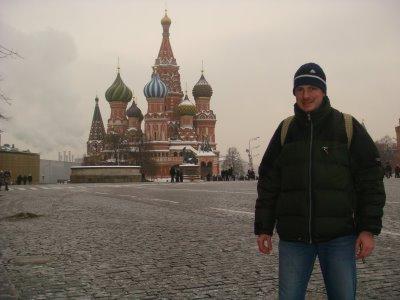Basilius-Kathedrale am Roten Platz in Moskau - Russland