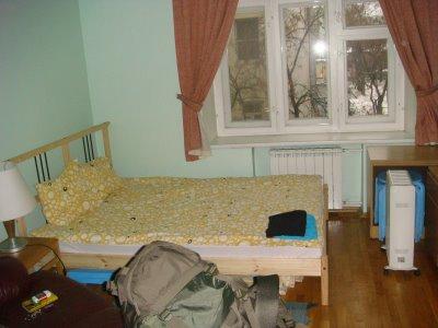 Mein Zimmer im Kita Inn Moskau - Russland