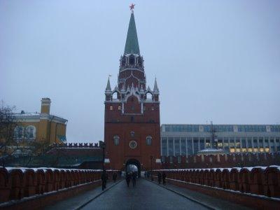 Aufgang zum Kreml in Moskau - Russland