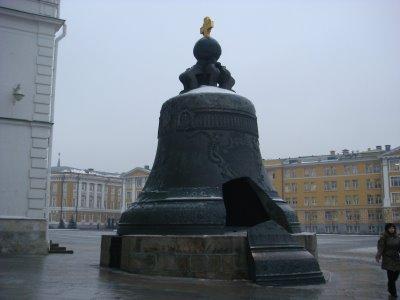 Glocke im Kreml in Moskau - Russland