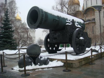 Kanone im Kreml in Moskau - Russland
