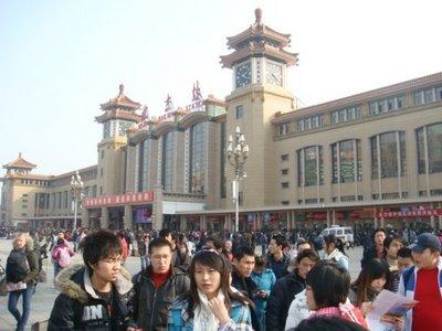 Peking - Hauptbahnhof