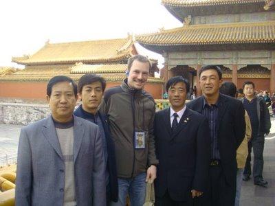 Peking - Verbotene Stadt - Foto mit Touristen