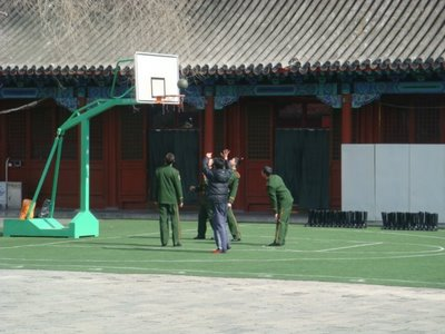 Verbotene Stadt Peking - Basketball