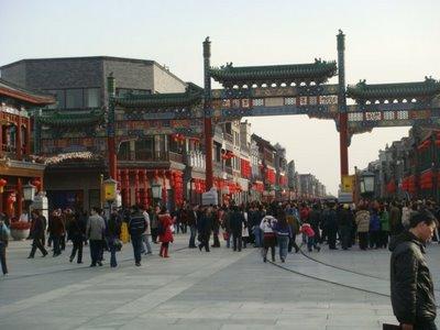 Peking - Qianmen Dajie