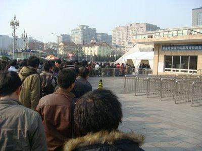Peking Hauptbahnhof - U-Bahn