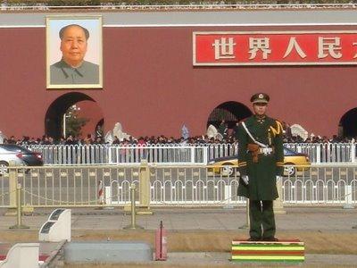 Peking - Tiananmenplatz/Platz des Himmlischen Friedens