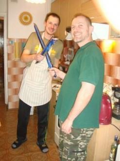 Spaghetti Bolognese in der Russischen Küche - Irkutsk