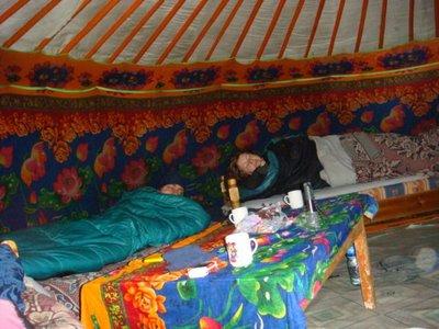 Tereldsh Nationalpark - Mongolei - Ger
