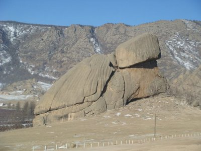 Tereldsh Nationalpark - Mongolei - Turtle Rock