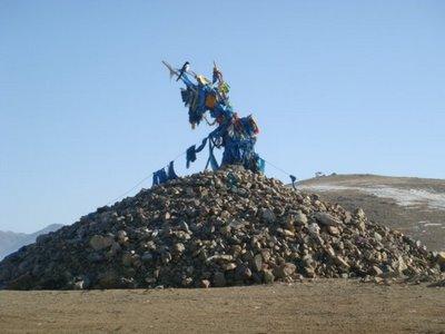 Tereldsh Nationalpark - Mongolei - Owoo