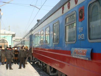 Transsibirische Eisenbahn - Waggon - Russland