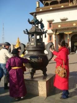 Ulaanbaatar - Mongolei - Gandan Kloster