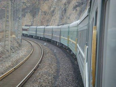 Zug Nr. 24 - Ulaanbaatar - Beijing