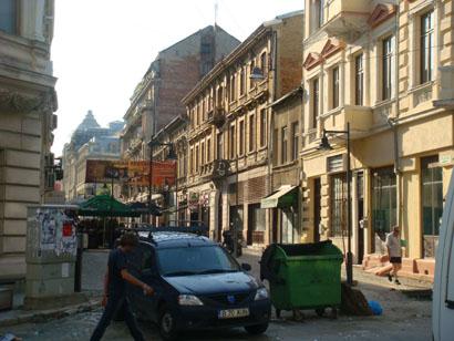 Bukarest - Altstadt
