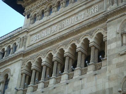 Bukarest - Scoala de Arhitectura