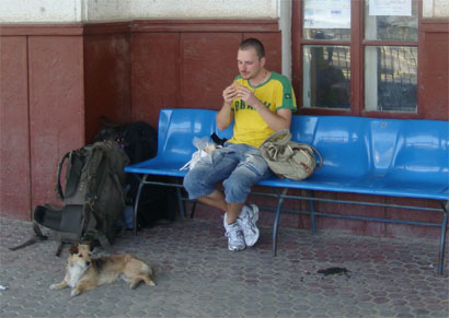 Bahnhof Medgidia - Rumänien