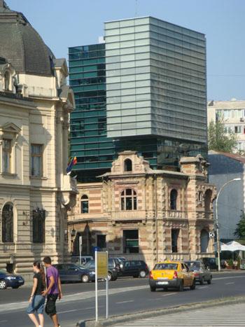 Bukarest - Kombination alt und neu
