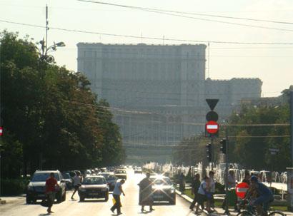 Bukarest - Parlamentspalast/Palast des Volkes