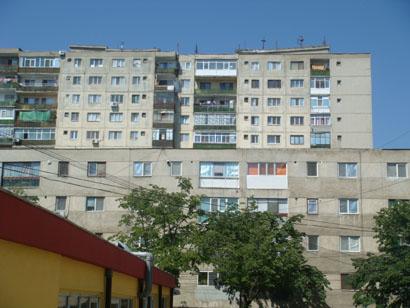 Rumänien - Plattenbau Tulcea