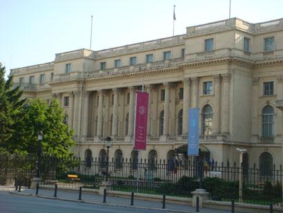 Bukarest - Senat am Piata Revolutiei