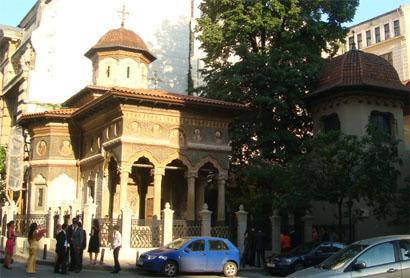 Bukarest - Stavropoleos Kirche