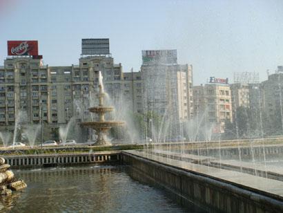 Bukarest - Piata Unirii