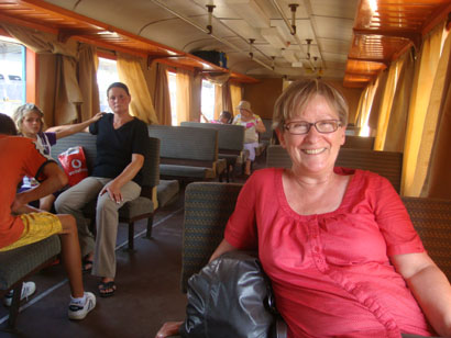 Zug nach Tulcea - Rumänien